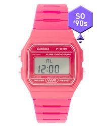 G-Shock | F-91wc-4aef Digital Pink Watch | Lyst