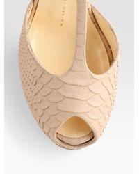 Giuseppe Zanotti | Pink Platform Sandals | Lyst
