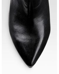 MICHAEL Michael Kors - Black Greenwich Cuffed Riding Boots - Lyst