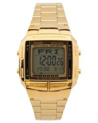 G-Shock - Metallic Gold Watch - Lyst