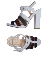 Cole Haan - Gray High-heeled Sandals - Lyst