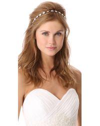 Dauphines of New York - Natural Glam Rocks Headband - Lyst