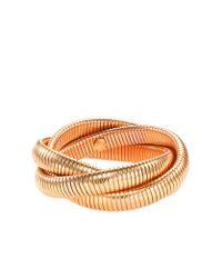 J.Crew | Metallic Golden Twist Bracelet | Lyst