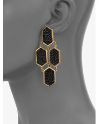 Kara Ross - Stingray Earrings - Lyst
