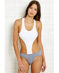 Minimale Animale | White Animale Vice Cutout Swimsuit | Lyst