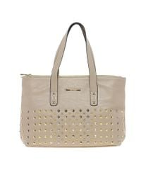 River Island | Gray Stud Front Bag | Lyst