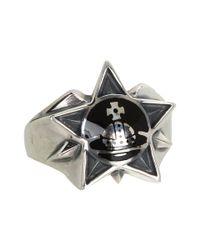 Vivienne Westwood - Black Elvis Ring - Lyst