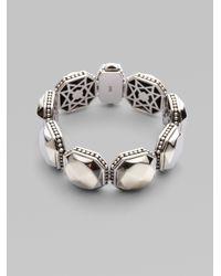 Lagos | Metallic Sterling Silver Rocks Bracelet | Lyst