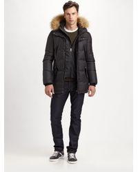 Mackage - Black Ferris Matte Puffy Down Coat for Men - Lyst