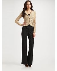 Nanette Lepore | Natural Aria Lace Jacket | Lyst