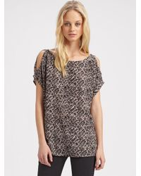 Joie - Black Libana Lace Top - Lyst