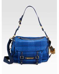 Juicy Couture - Blue Pendleton Wool Messenger Bag - Lyst