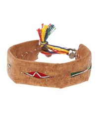 Maria Rudman | Brown Distressed Bracelet | Lyst