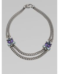 Stephen Webster | Metallic Semi-precious, Multi-stone Two-row Necklace | Lyst