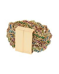 Bex Rox | Multicolor Jasmine Cuff with Necklace Attachment | Lyst