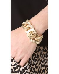 Marc By Marc Jacobs - Metallic Exploded Apocalyptic Katie Bracelet - Lyst