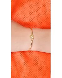 Marc By Marc Jacobs | Metallic Turnlock Skinny Bracelet | Lyst