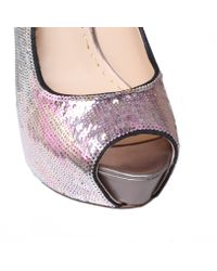 Enzo Angiolini | Silver Tanen2 Court Shoes | Lyst