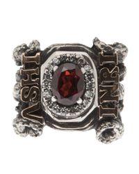 KD2024 - Metallic Inri Ring - Lyst
