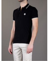 Dolce & Gabbana - Black Classic Polo Shirt for Men - Lyst