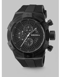 Brera Orologi - Black Supersportivo Chronograph Watch for Men - Lyst