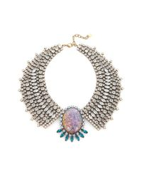 DANNIJO | Metallic Sienna Necklace | Lyst