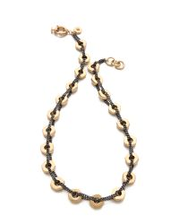 Marc By Marc Jacobs | Metallic Bolt Link Necklace | Lyst