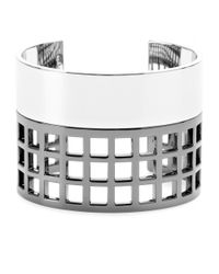 Reed Krakoff | Metallic Machine Narrow Cuff Bracelet | Lyst