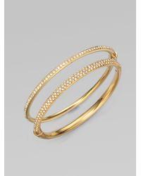 Adriana Orsini | Metallic Pav & #233 Sparkle Bracelet | Lyst