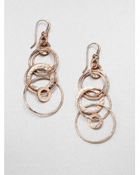 Ippolita | Pink Rose Carino Jet Set Drop Earrings | Lyst