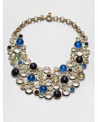 Marc By Marc Jacobs - Blue Bubbles Bib Necklace - Lyst