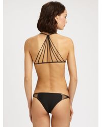 Mikoh Swimwear - Black Banyans Multistring Bikini Top - Lyst