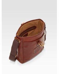 Ralph Lauren - Orange Deerfield Leather Canteen Bag for Men - Lyst