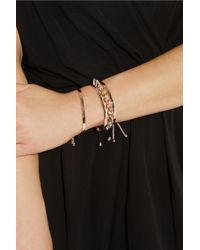 Monica Vinader - Metallic Fiji Rose Goldplated Bracelet - Lyst