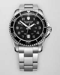 Victorinox - Metallic Maverick Gs Watch - Lyst