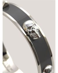 Alexander McQueen | Black 3d Skull Bangle | Lyst