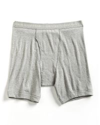 Calvin Klein - Gray Big And Tall Boxer Briefs for Men - Lyst