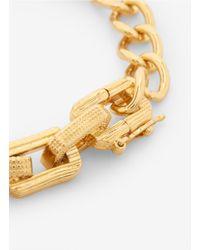 Eddie Borgo - Metallic Gold-tone Chain Bracelet - Lyst