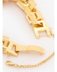 Eddie Borgo - Metallic Helix Link Bracelet - Lyst