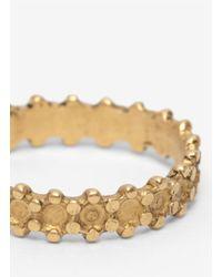 Ela Stone - Metallic Brass Band Ring - Lyst