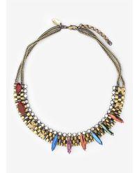Iosselliani - Metallic Deco Necklace - Lyst