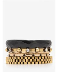 Iosselliani | Metallic Multi Bangles | Lyst