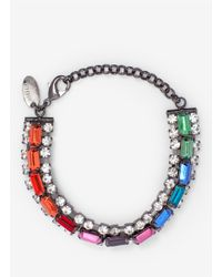 Iosselliani - Multicolor Rainbow Deco Bracelet - Lyst