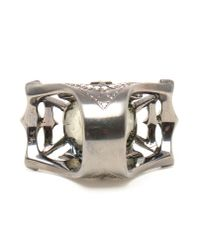 Loree Rodkin - Gray Medieval Diamond And Sapphire Ring - Lyst