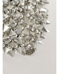 Philippe Audibert | Metallic Spike-and-bead Bracelet | Lyst