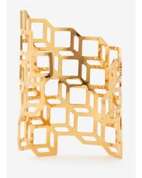 Pierre Hardy - Metallic Gold-plated Cuff - Lyst
