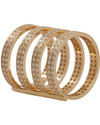 Repossi | Metallic Berbere 4-band Cage Ring | Lyst