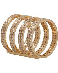 Repossi - Metallic Berbere 4-band Cage Ring - Lyst