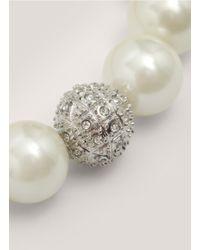 R.j. Graziano | White Pearl Bracelet | Lyst