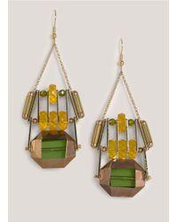 Scho | Green Envy Earrings | Lyst